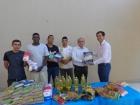 Alimentos arrecadados na Palestra Gratuita de Marketing doados  para Casa de Recuperação Nova Vida