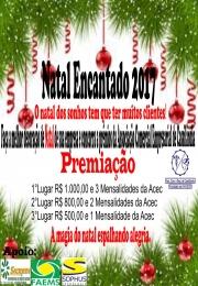 2° natal encantado 2017 Premiação de Natal das empresas.