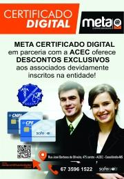 Agora a Associação Comercial e Empresarial de Cassilândia esta fazendo certificado Digital, venha fazer o seu.