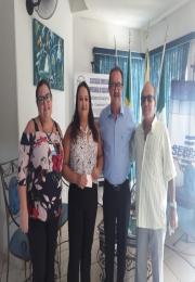 Ganhadores dos prêmios da Promoção Natal do Comercio da Associação Comercial e Empresarial de Cassilândia Cliente ganhad
