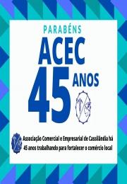 45 Anos da Associação Comercial e Empresarial de Cassilândia