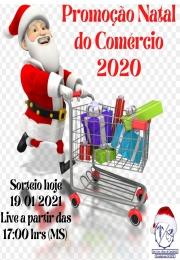 Live hoje apartir das 17:00 hrs (MS) PROMOÇÃO NATAL DO COMÉRCIO 2020